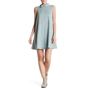 BOBEAU COWL NECK DRESS